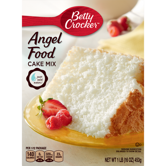 Betty Crocker Angel Food Cake Mix (16oz)