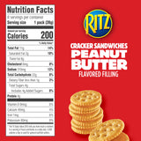RITZ Peanut Butter Sandwich Crackers (11.4oz)