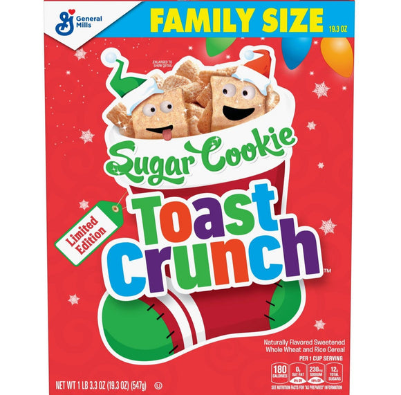 General Mills Sugar Cookie Toast Crunch (19.3oz)