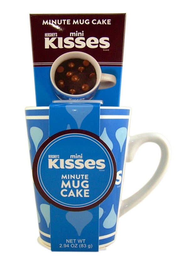 Hershey's Mini Kisses Mug Cake Gift Set with Cake Mix (3oz)