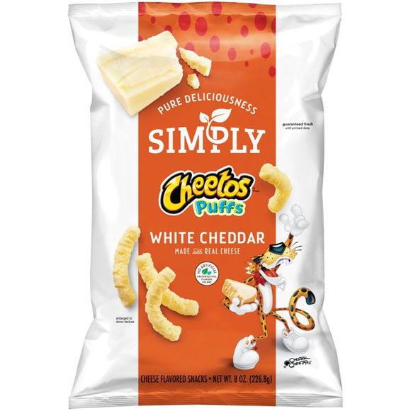 Simply Cheetos Puffs White Cheddar (8oz)