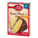 Betty Crocker Super Moist Yellow Cake Mix (15.25oz)