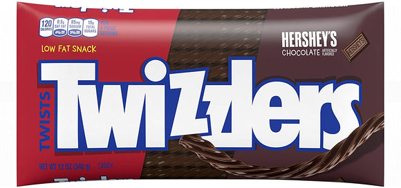 Twizzlers Hershey's Chocolate Twist (12oz)