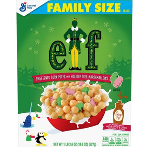 General Mills Buddy the Elf Cereal (18.6oz)