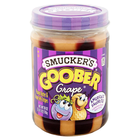 Smucker's Goober Grape Peanut Butter and Jelly Spread  (18oz)
