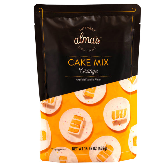 Alma's Orange Cake Mix (15.25)