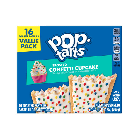 Pop-Tarts Frosted Confetti Cupcake (27oz)