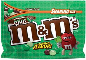 M&M'S Crunchy Mint Chocolate Candy (8oz)