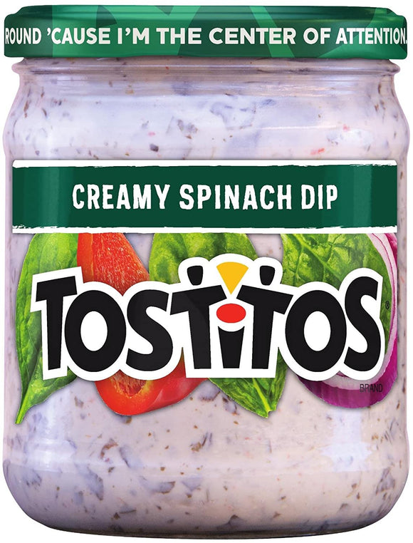 Tostitos Creamy Spinach (15oz)