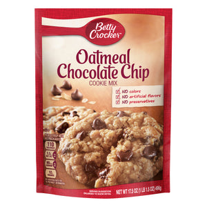 Betty Crocker Oatmeal Chocolate Chip Cookie Mix (17.5oz)