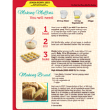 Betty Crocker Lemon Poppy Seed Muffin & Quick Bread Mix (14.5oz)