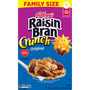 Kellogg's Raisin Bran Crunch Original, (22.5oz)