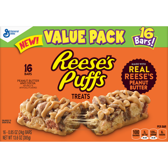 Reese's Puffs Treat Bars (13.6oz)