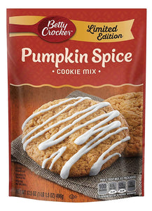 Betty Crocker Pumpkin Cookie Mix (17.5oz)