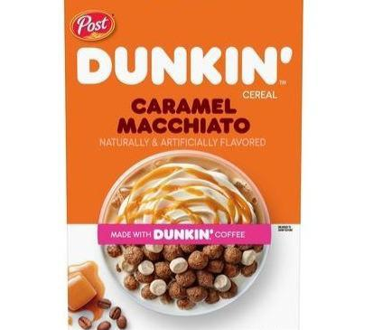 Post Dunkin' Caramel Macchiato Cereal (17oz)
