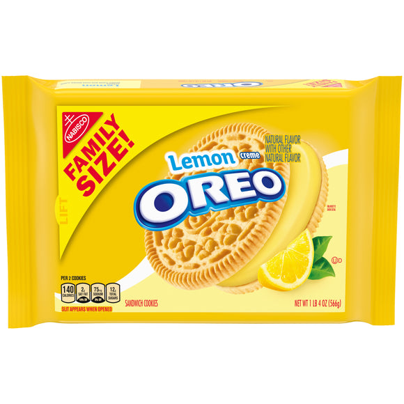 Oreo Lemon Creme (20oz)