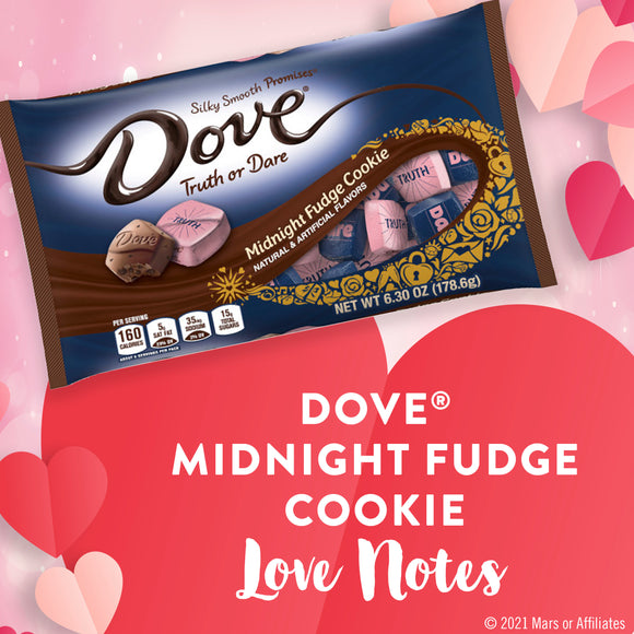 Dove Valentine's Midnight Fudge Cookie Chocolates (7.94oz)