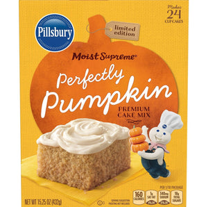 Pillsbury Moist Supreme Perfectly Pumpkin Cake Mix (15.25oz)