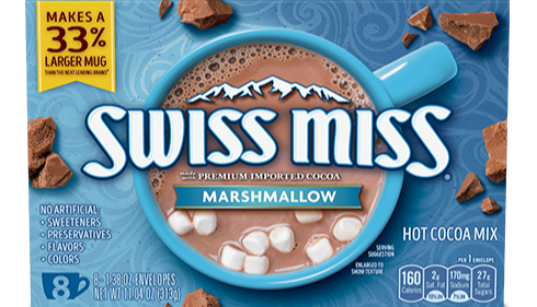 Swiss Miss Marshmallow Hot Cocoa Mix 8-(1.38oz) Envelopes