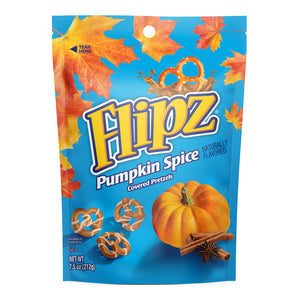 Flipz Pumpkin Spice Covered Pretzels (7.5oz)