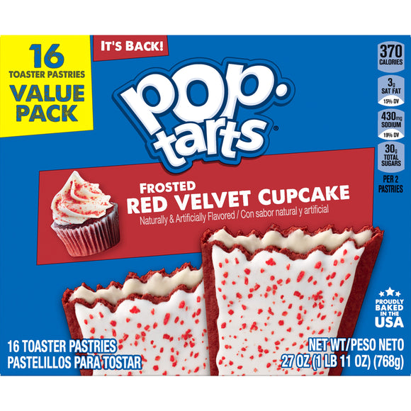 Pop Tarts Red Velvet Cupcake (27oz)