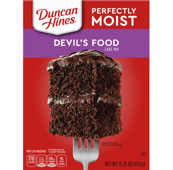 Duncan Hines Classic Devil's Food Cake Mix (15.25oz)