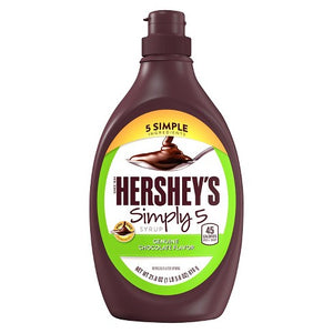 Hershey's Simple 5 Syrup Chocolate Flavour (21.8oz)