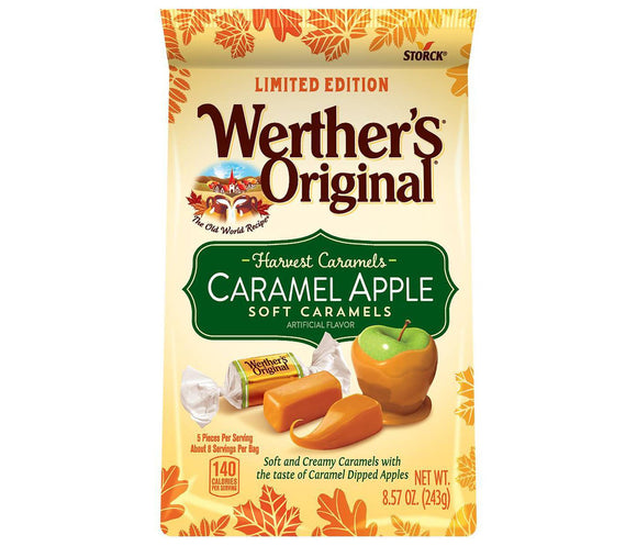 Werther's Original Caramel Apple Soft Caramels (8.57oz)