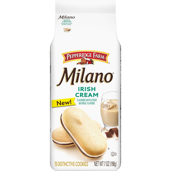 Milano Irish Cream Cookies (7oz)