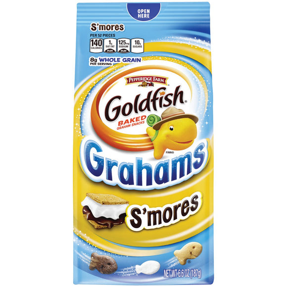 Goldfish Grahams S'mores Crackers (6.6oz)