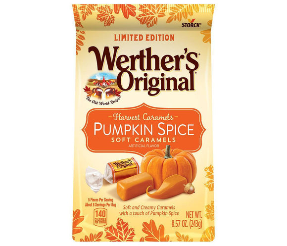 Werther's Pumpkin Spice Soft Caramels (8.57oz)