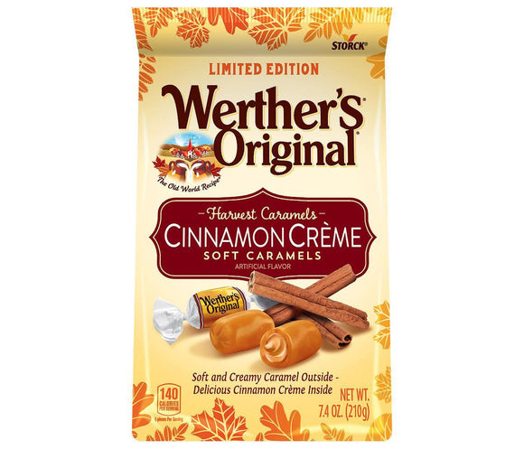 Werther's Original Soft Cinnamon Caramels (7.4oz)