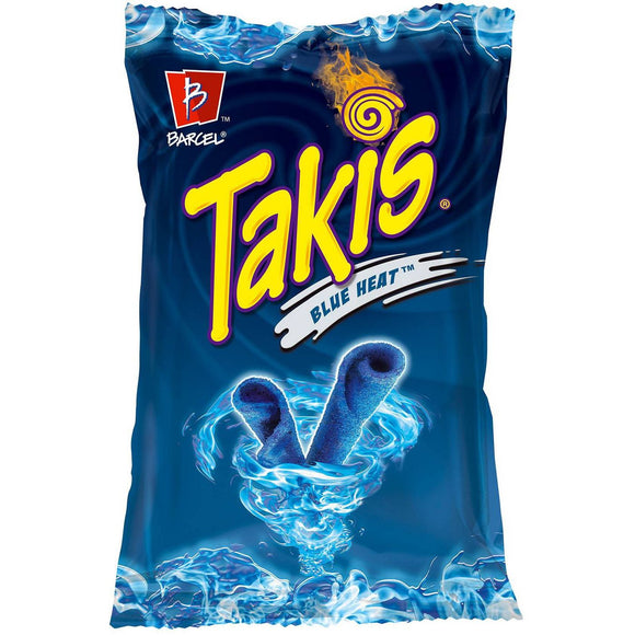 Takis Blue Heat, Chili Lime Tortilla Chips (9.9oz)