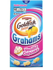 Goldfish Grahams Vanilla Cupcake Crackers (6.6oz)
