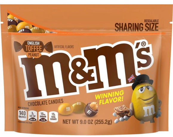 M&M's English Toffee Peanut Chocolate (9oz)