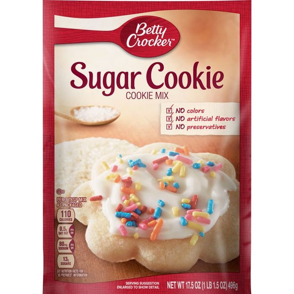 Betty Crocker Sugar Cookie Mix (17.5oz)
