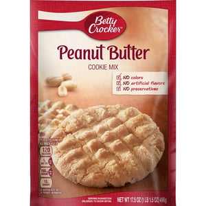 Betty Crocker Peanut Butter Cookie Mix (17.5oz)