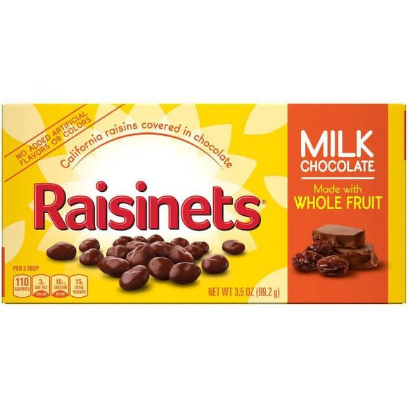 Raisinets Milk Chocolate Covered Raisins (3.5oz)