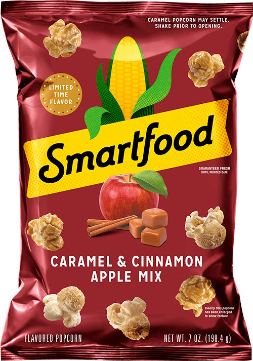 Smartfood Caramel & Cinnamon Apple Mix Popcorn (7oz)