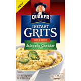 Quaker Instant Grits Jalapeno Cheddar 12-(0.98) Packets