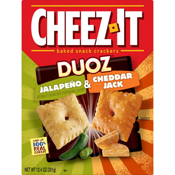 Cheez-It Jalapeno & Cheddar Jack (12.4oz)