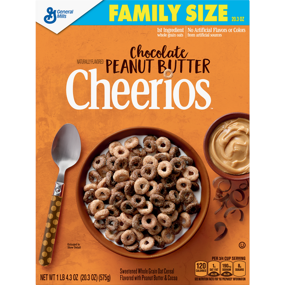 Cheerios Chocolate Peanut Butter (20.3oz)
