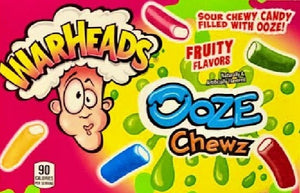 Warheads Sour Candy Ooze Chew (3.5oz)