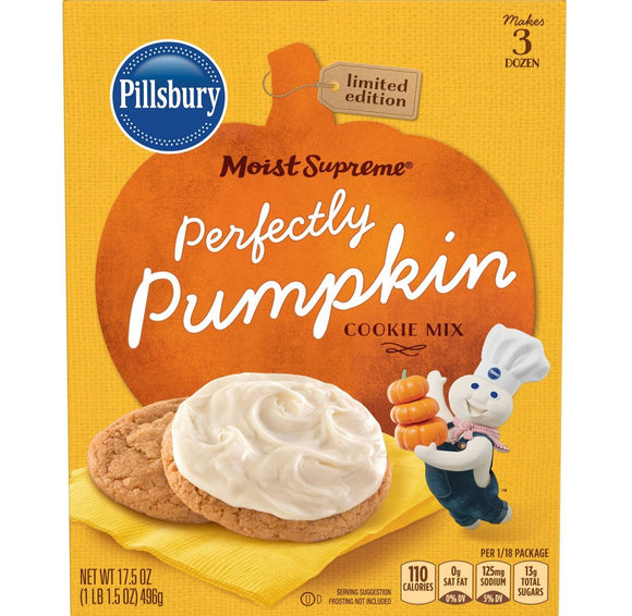 Pillsbury Perfectly Pumpkin Cookie Mix (17.5oz)