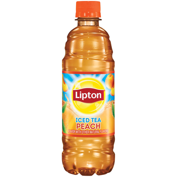 Lipton Peach Iced Tea (16.9oz)