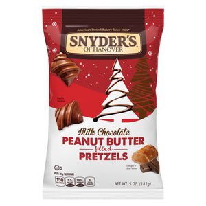 Snyder's Peanut Butter Filled Pretzel Dips Milk Chocolate (5oz)