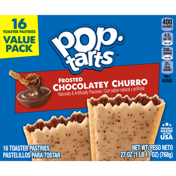 Pop-Tarts Frosted Chocolatey Churro (27oz)