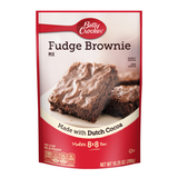 Betty Crocker Fudge Pouch Brownie Mix (10.25oz)
