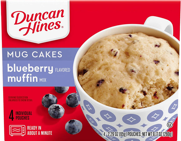 Duncan Hines Blueberry Muffin Mix (9.17oz)