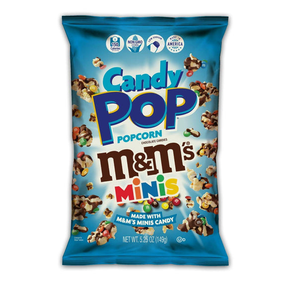 Candy Pop M&M,s Minis Popcorn (5.25oz)